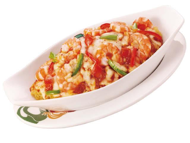 <p>肥美的鲜虾搭配脆爽青椒,调和独具特色的克里奥尔风味酱,口口醇香入味。</p>